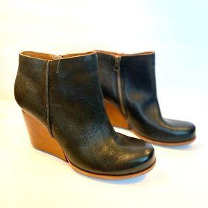 Kork-Ease Natalya Leather Bootie Size 7